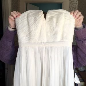 J. Crew Nadia Ivory Wedding Dress